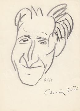 Rózsahegyi, György - Portrait of Ottó Demény Poet