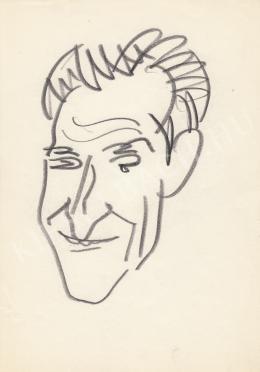Rózsahegyi György - Demény Ottó költő portréja (1970-es évek)