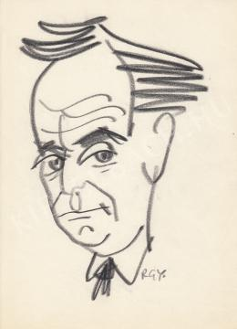 Rózsahegyi György - Devecseri Gábor költő, író, nyelvész portréja