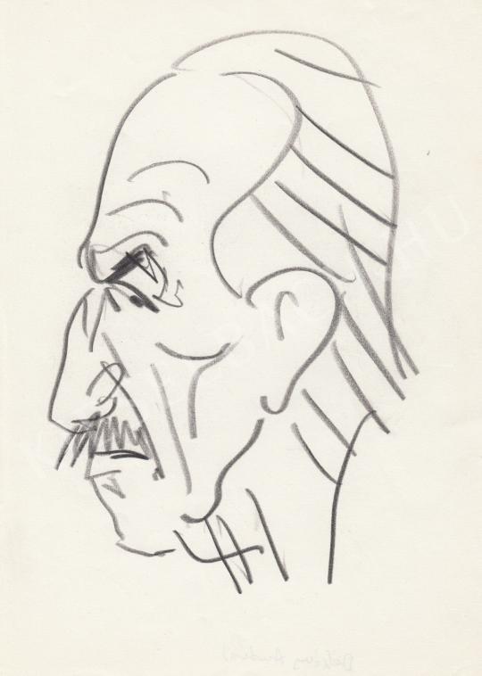 Eladó  Rózsahegyi György - Dékány András író portréja festménye