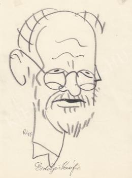 Rózsahegyi György - Erdélyi József költő portréja (1970-es évek)