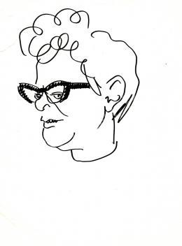 Rózsahegyi György - Fehér Klára író, újságíró portréja
