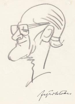 Rózsahegyi, György - Portrait of István Fejér Journalist, Editor, Theatre Director