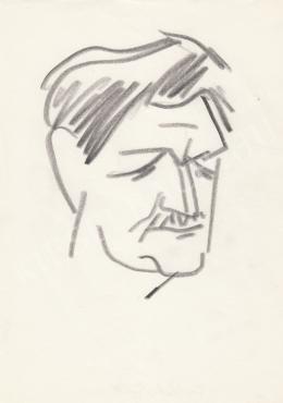 Rózsahegyi György - Fekete Gyula író portréja