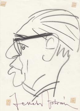Rózsahegyi, György - Portrait of István Fekete Writer