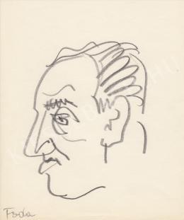 Rózsahegyi, György - Portrait of József Fodor Poet, Writer, Journalist