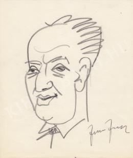Rózsahegyi György - Fodor József költő, író, újságíró portréja