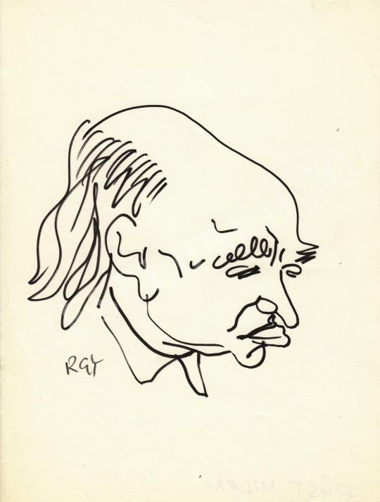 Eladó  Rózsahegyi György - Füst Milán író portréja festménye