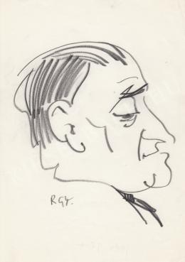 Rózsahegyi György - Goda Gábor író portréja