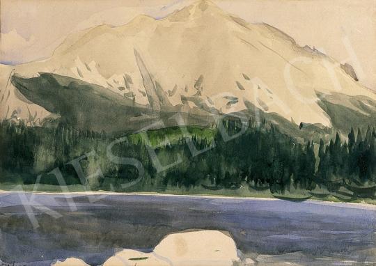 Bernáth Aurél - Hegyi tó   10. Auction aukció / 13 tétel