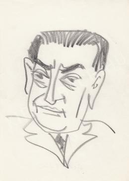 Rózsahegyi, György - Portrait of Gábor Goda Writer