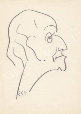 Rózsahegyi, György - Portrait of Oszkár Gellért Writer