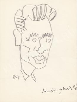 Rózsahegyi György - Hubay Miklós író portréja