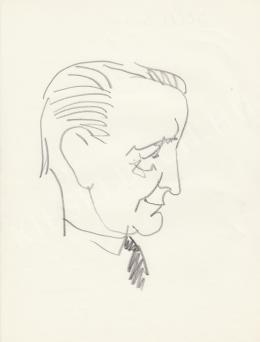 Rózsahegyi György - Illés Endre író portréja