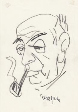 Rózsahegyi, György - Portrait of Béla Illés Writer