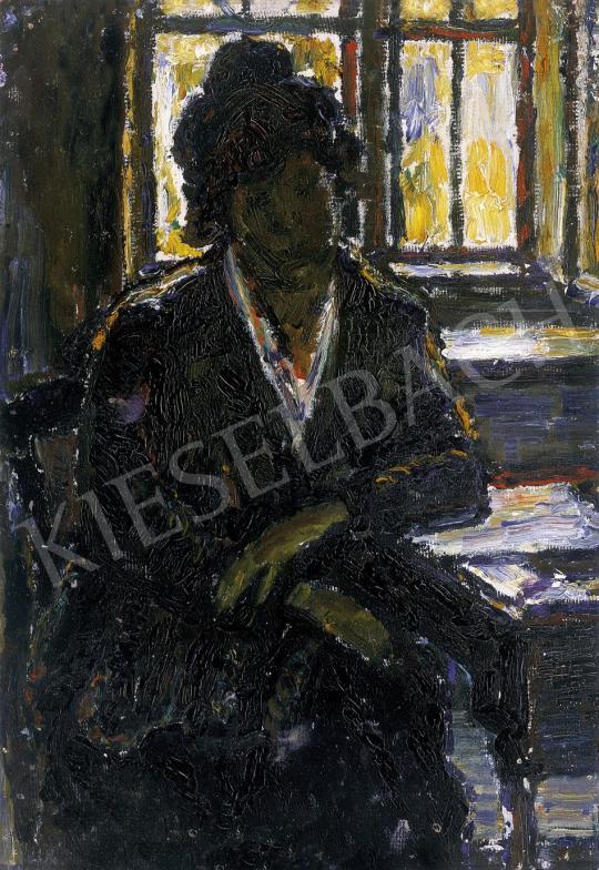 Nagy István - Ablak előtt | 10. Auction aukció / 29 tétel