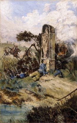 Scheiber Hugó - Csatatéren