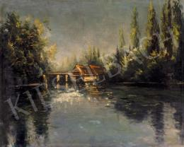 Scheiber, Hugó - Mill-pond of Jászberény