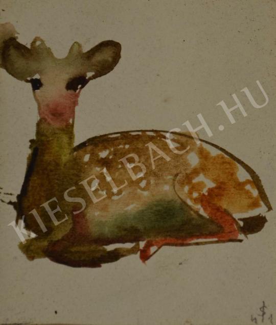 For sale  Spányi, Ilona - Bambi 's painting
