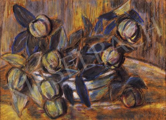 Nagy István - Csendélet birskörtékkel | 10. Auction aukció / 45 tétel
