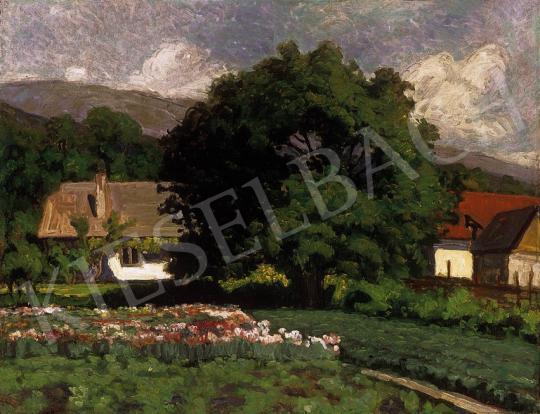 Balla Béla - Öreg diófa, 1926   10. Auction aukció / 47 tétel