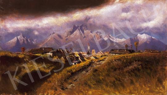 Mednyánszky László - Hegyvidéki táj | 10. Auction aukció / 54 tétel