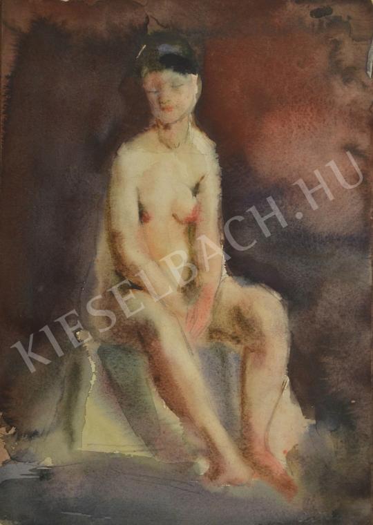 For sale Ősz, Dénes - Female Nude Looking Down 's painting