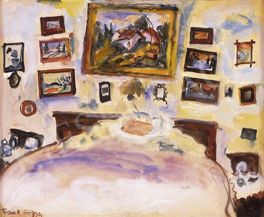 Frank Frigyes - A festő szobája | 10. Auction aukció / 74 tétel