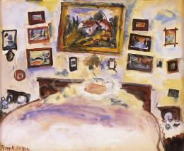 Frank Frigyes - A festő szobája