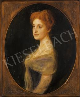 László Fülöp - Hölgy arcképe (Mária Terézia hercegnő?)