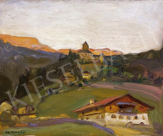 László Fülöp - Tiroli falu | 10. Auction aukció / 78 tétel
