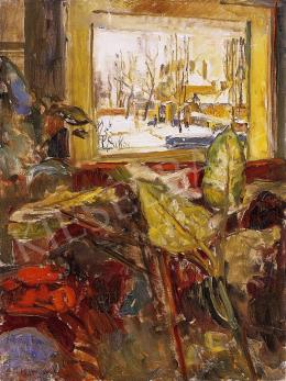 Herman, Lipót - View from the studio