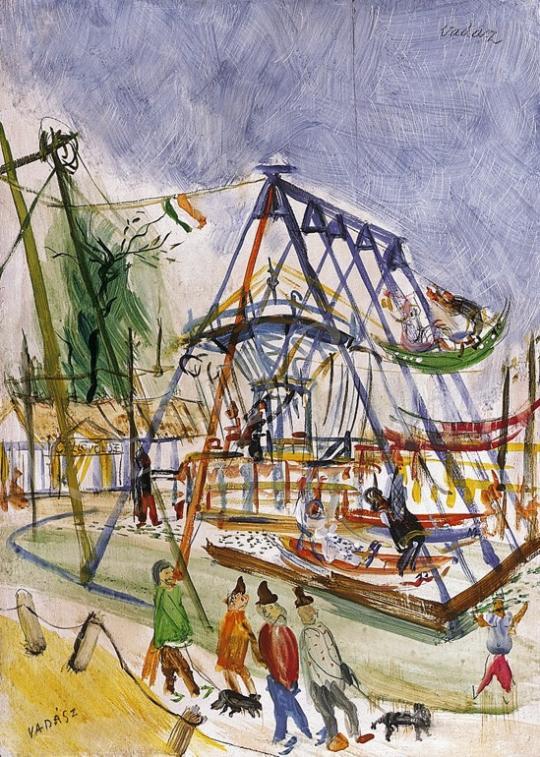 Vadász Endre - Vurstli | 10. Auction aukció / 83 tétel