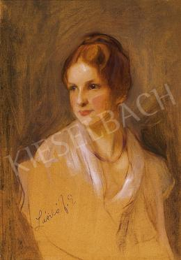 László, Fülöp - Woman with ginger hair