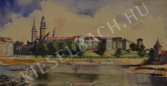 Eladó Ősz Dénes - Krakkó látképe festménye