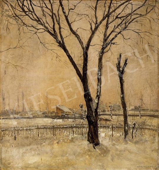 Magyar Mannheimer Gusztáv - Téli táj | 10. Auction aukció / 95 tétel