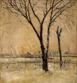 Magyar Mannheimer, Gusztáv - Winter landscape