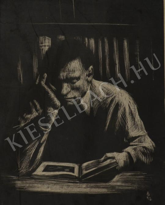 For sale Ősz, Dénes - Man Reading 's painting