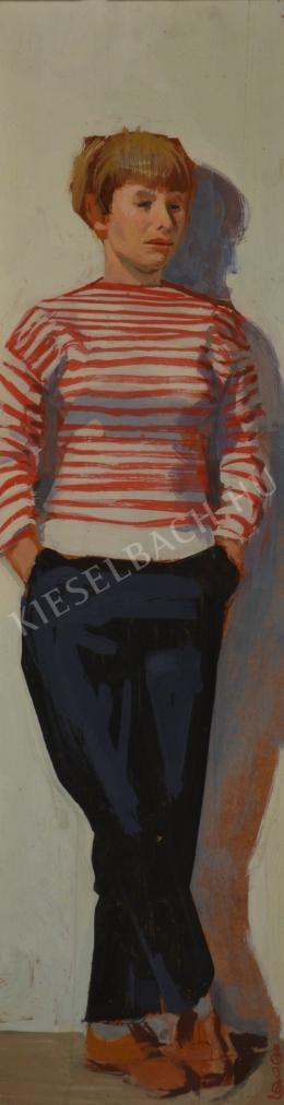 Ősz Dénes - A csíkos pulóver (E. Nagy Katalin portréja)