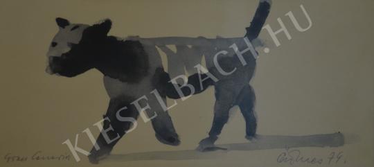 Eladó Ősz Dénes - Macska Gran Canarián festménye