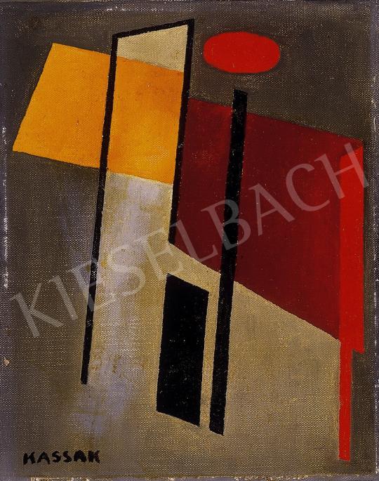 Kassák Lajos - Kompozíció | 10. Auction aukció / 117 tétel