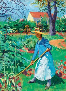 Ziffer, Sándor - Gardener Girl, 1912-14