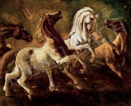 Gábor, Jenő - Horses, 1945