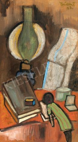 Bálint Endre - Petróleumlámpás csendélet (1937)