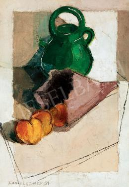 Ney, László (Lancelot Ney) - Still-life with Peaches, 1931 (1931)