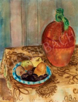 Berény Róbert - Műtermi csendélet gyümölcsökkel