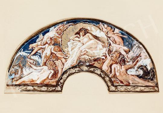 Lotz Károly - Vénusz születése | 44. Aukció aukció / 46 tétel