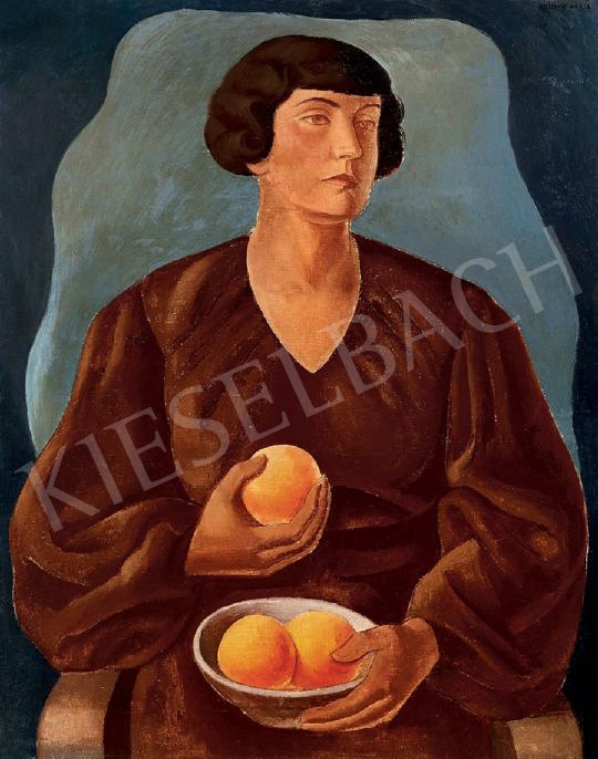 Gábor Jenő - Hölgy naranccsal (Macus narancsokkal) | 44. Aukció aukció / 58 tétel