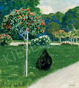 Balla Béla - Rózsafák a parkban