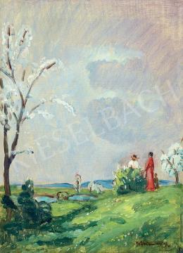 Iványi Grünwald Béla - Tavaszi virágzás a mezőn